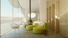 If It's Hip, It's Here: Modern Desert Villa Retreat by Weinstein Vaadia Architects Brought to Life by Studio Aiko.