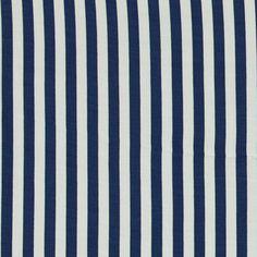 Woven crepe viscose blue/nature stripe