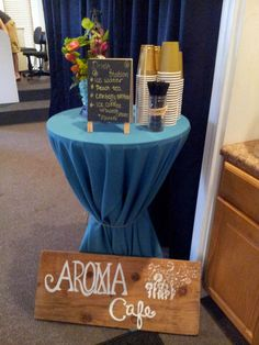 The Aroma of Life : Home Brewed Ice Coffee and Small Event Refreshment Bar