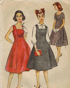 1950s McCall's 4764 Vintage Sewing Pattern by midvalecottage
