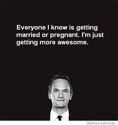 Barney Stinson. Awesome.