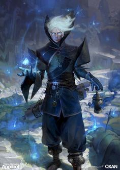 Master Sorcerer - Applibot, Yohann Schepacz OXAN STUDIO on ArtStation at https://www.artstation.com/artwork/master-sorcerer-applibot