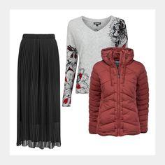 Weihnachtsfeier, Dinner mit Freunden oder der Family? Du brauchst dieses coole Outfit: www.94fashionstore.de Jackets, Shopping, Women, Fashion, Cool Outfits, Celebration, Down Jackets, Moda, Women's