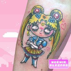By Noemie Alazard @ Paris & Lille Geek Stuff, Kawaii, Paris, Manga, Tattoos, Animals, Tattoo Art, Geek Things, Montmartre Paris