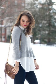 easy layered sweater