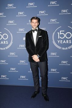 Johannes Huebl wearing Santoni while celebrating the anniversary of our partner IWC Watches during SIHH in Ginevra. Iwc Watches, Magazine Man, Italy Fashion, Suit And Tie, Anniversary, Celebrities, Movie Posters, Movies, Fictional Characters