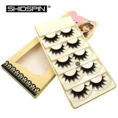 New 5 pairs false eyelashes extensione makeup fake lashes thick fake eyelashes long make up eyelash beauty lashes #S21