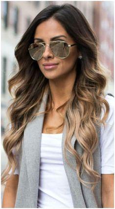 Highlights For Dark Brown Hair, Long Brown Hair, Brown Hair Colors, Hair Highlights, Long Ombre Hair, Caramel Highlights, Color Highlights, Blonde Ombre, Dark Blonde