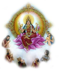 For destroying the cruelty of evil demons on the earth and for the welfare of the whole of humanity, goddess Durga descended on earth as her ninth form of Sri Siddhidatri. This form of thegoddessis