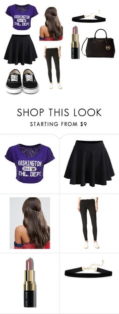 """Untitled #5"" by nightmare-sans on Polyvore featuring Blue 84, WithChic, ASOS, Splendid, Bobbi Brown Cosmetics and Michael Kors"