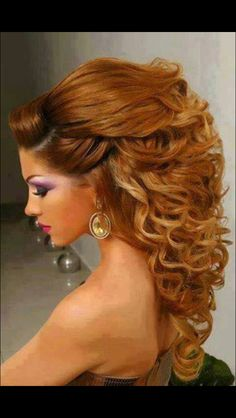 Half Up Hairstyles With Volume