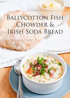 Cafe Johnsonia: Rachel Allens Ballycotton Fish Chowder