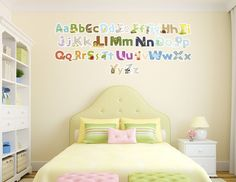 Animal Alphabets Wall Decals (set)