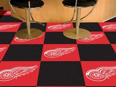 Use the code PINFIVE to receive an additional 5% discount off the price of the Detroit Red Wings NHL Carpet Tiles at sportsfansplus.com