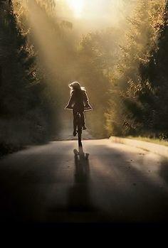 sunrise bike ride