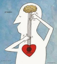 El corazón esta en al mente, no hay sentimientos sin pensamientos. @jaumeguinot #reflexiones
