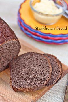 Steakhouse Homemade Bread Recipe — Roxana's Home Baking Steakhouse Bread Recipe, Best Steakhouse, Bread Recipes, Cooking Recipes, Copycat Recipes, Healthy Recipes, Bread Rolls, Rye Bread, Yeast Bread