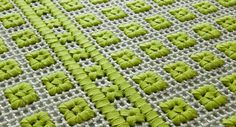 ORTO Square rug High Tech Collection by Paola Lenti