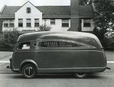 1937 International Delivery Van