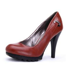 (59.65$)  Buy here  - Women's shoes brief all-match spring and autumn sexy mature work shoes deep red 393