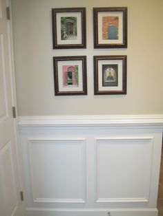 Designed To Dwell: Tips for Installing Chair Rail & Wainscoting