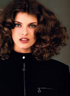 Gilles Bensimon for Elle magazine, September 1987. Jacket by David Cameron.