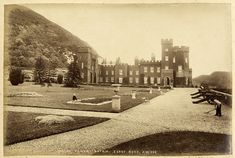 Garron Tower, Coast Road, Antrim | Creator: R. Welch (Photog… | Flickr Northern Ireland, Old Photos, Coast, Tower, Places, Old Pictures, Rook, Computer Case, Northern Ireland County
