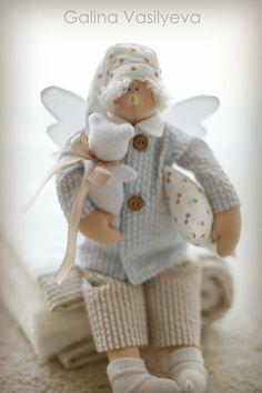 Plaid para el bebé y el ángel del sueño