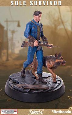 Fallout 4 Sole Survivor (Nate) 1/4 Scale Statue
