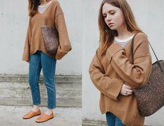 Kristina Magdalina - Zaful Sweater, Newchic Shoes - Oversized Sweater