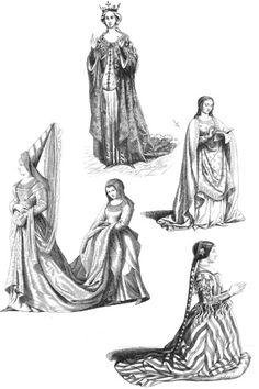 Le dessin pour les cr ateurs de mode broch gabriel martin roig angel fernandez - Dessins moyen age ...