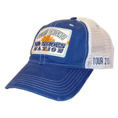 Got it!!  Kenny Chesney 2013 No Shoes Nation Blue and White Ballcap
