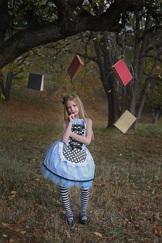 Curiouser and Curiouser! Alice in wonderland