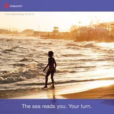 Waves do talk. Talk back.
