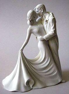Romantic Cake Topper / ThisNext @ http://www.thisnext.com/item/C00F2D66/Elegance-Wedding-Cake-Topper