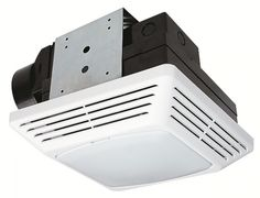 Replace your bathroom vent fan