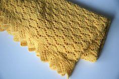 Hand Knit Baby Blanket Baby Blanket Knit Baby Boy by BambinoStore