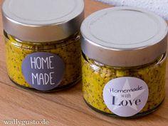 Whisky-Honig-Senf | Weihnachtsgeschenk aus meiner Küche
