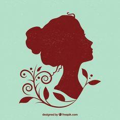Resultado de imagem para silhuetas de mulheres de várias raças