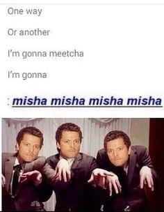Misha Collins!