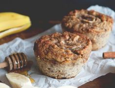 The secret cinnamon almond butter filling makes these banana muffins insanely good. If you don't have a jumbo silicone muffin tin, use a standard one—just be sure to add less batter and use greaseproof muffin liners. on goop.com. http://goop.com/recipes/jumbo-banana-muffins/