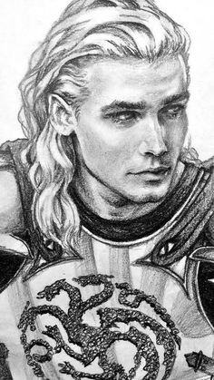 Rhaegar Of the house targaryen, first of his name, rightful king of the andals, rhoynar and the first men, lord of the seven kingdoms and protecter of the realm.