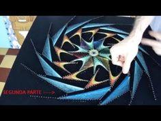 string art turbina fractal por jorge de la tierra segunda parte - YouTube