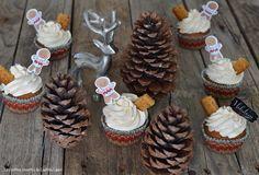 Cupcakes de Noël au pain d'épices et orange