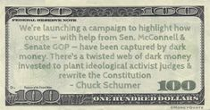 Chuck Schumer: Dark Money Web – Money Quotes Daily Poverty Quotes, Money And Happiness, Money In Politics, Attract Money, Tax Refund, Money Quotes, Ernest Hemingway, William Morris, Greed