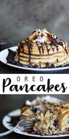 Savory magic cake with roasted peppers and tandoori - Clean Eating Snacks Pancakes For Dinner, Breakfast For Dinner, Breakfast Dishes, Breakfast Recipes, Breakfast Pancakes, Oreo Pancakes, Chocolate Chip Pancakes, Chocolate Syrup, Homemade Chocolate