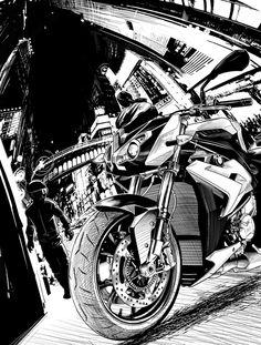 BMW an art print by Rich Lee Bmw S1000rr, Motorcycle Design, Valentino Rossi, Bike Art, Motorbikes, Artsy, Art Prints, Gallery, Biking