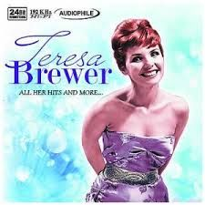 Teresa Brewer Vinyl Album Cover Art