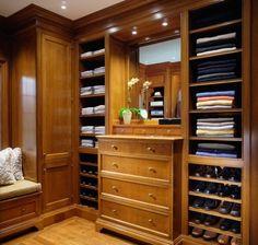 43 Stylish Masculine Closet Designs | DigsDigs