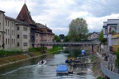 Couleurs magiques à Yverdon-les-Bains / Magic colors in Yverdon-les-Bains {Canal de la Thièle}